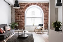 Cozy loft apartment in best location!