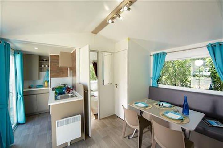 Mobil home 2 chambres 24m² - Saint-Hilaire-de-Riez - Domek parterowy