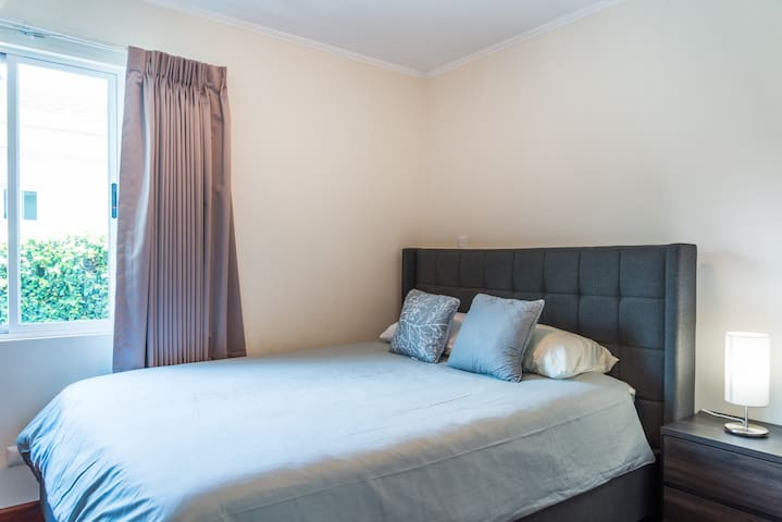 Secondary Bedroom  Also Queen size Bed Also with it own private restroom