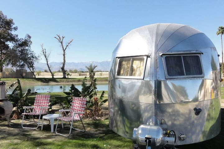 Desert Oasis Glamping in our Vintage Airstreams!