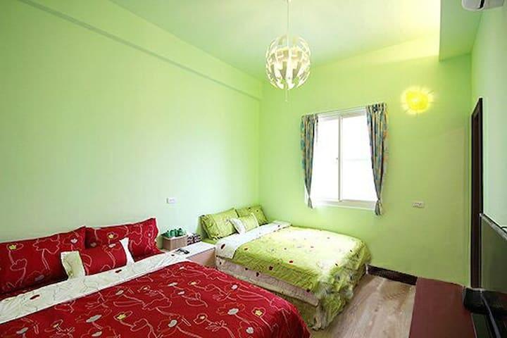 叢林綠4人房