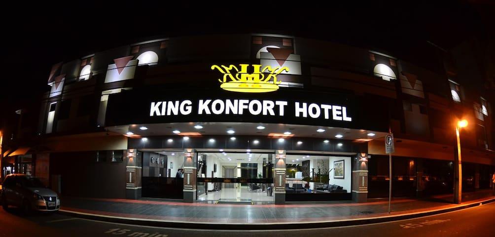 Apartamento Single Executivo King Konfort Hotel
