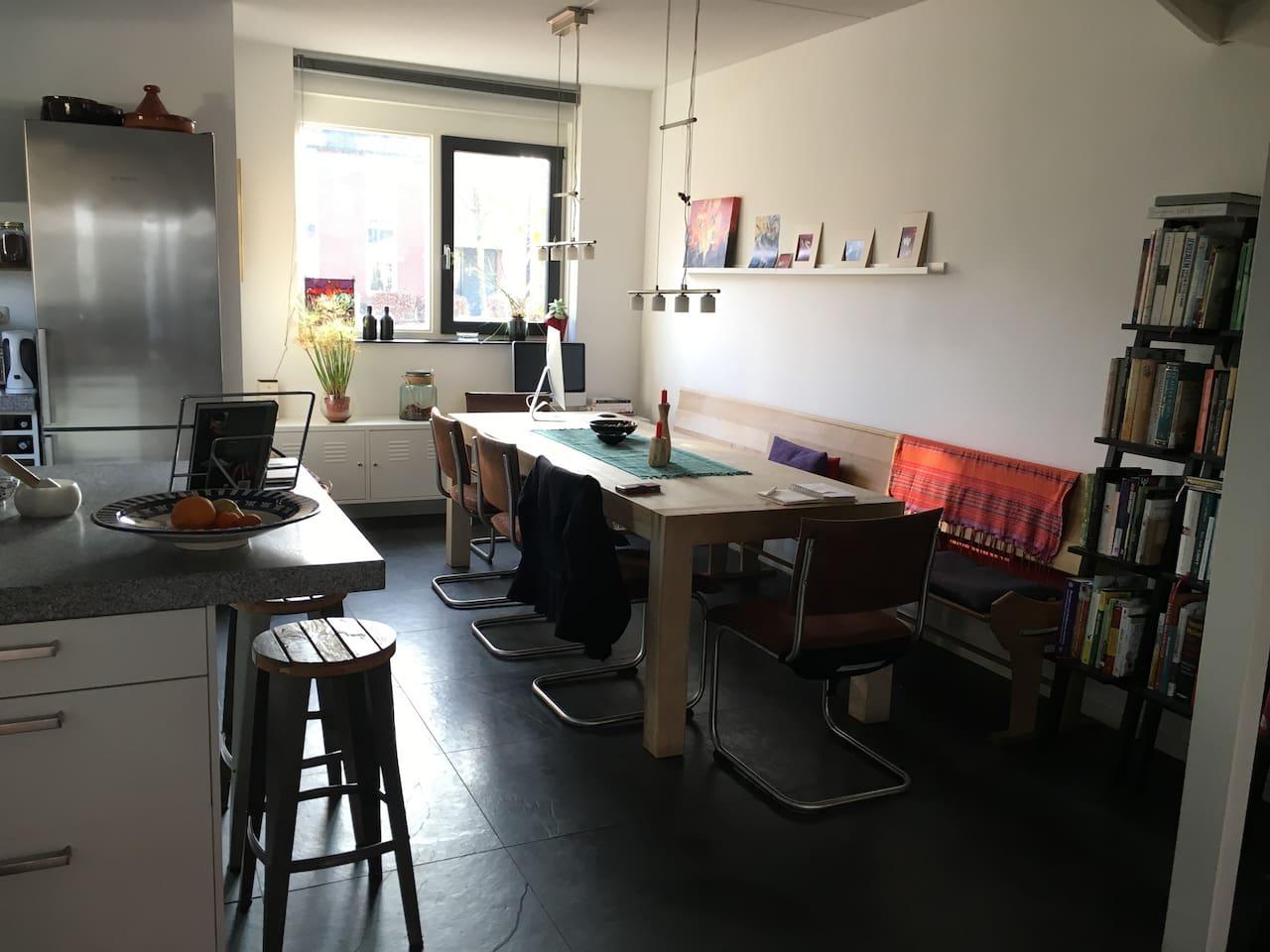 de eetkamer/kitchentable