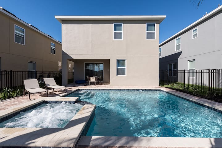 Reunion Aladdin, Orlando, 8 Bedrooms - Altamonte Springs - Rumah