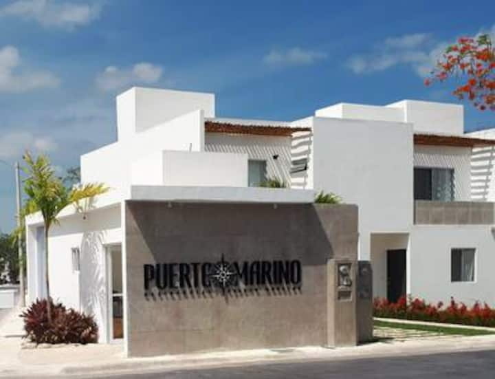 Bonita Casa en Puerto Morelos Quintana Roo México