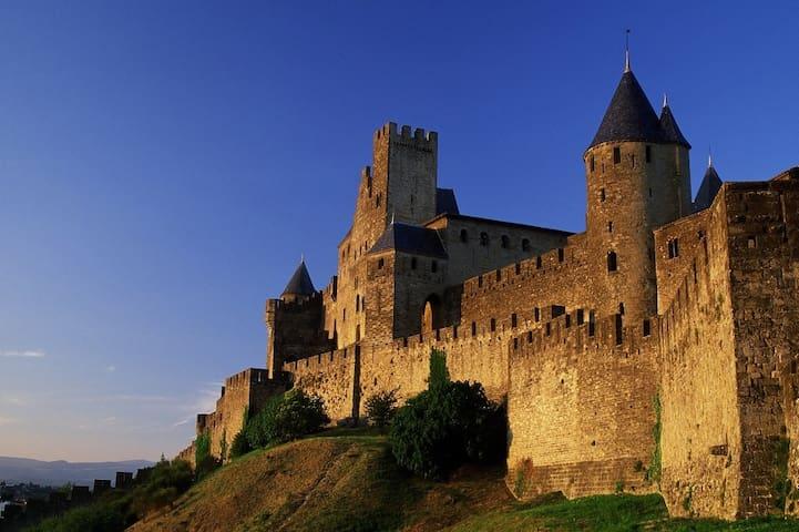 château de Carcassonne: le plus grand château d'Europe