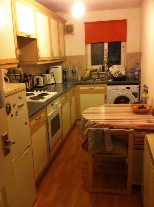 Kitchen - use of washing machine included
