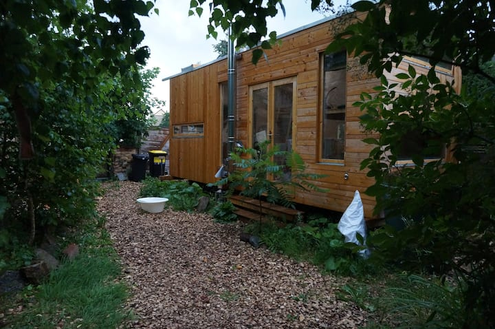 Erlebniszeit im Tinyhouse mit uriger Holzofensauna