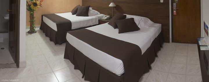 Hermosa habitación para 2 personas