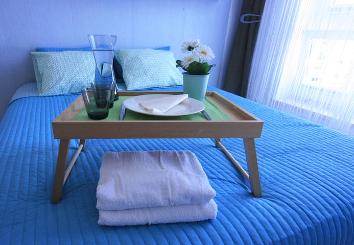 Sleeps 5 ★kids & biz friendly ★ 10 min to Old Town - Gdańsk - Huoneisto