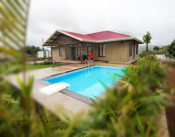 """Kings ""4bhk villa with pool at Igatpuri - Igatpuri - Villa"