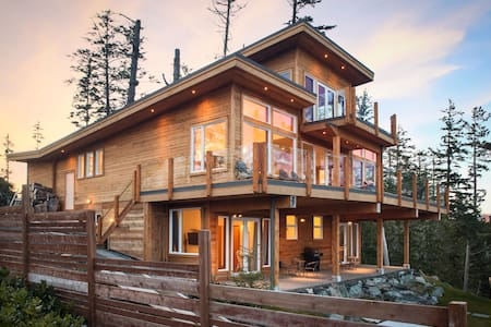An Exclusive Private Ocean Front Room with Hot Tub - Ucluelet - Ház