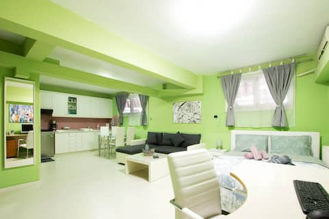 Lovely, renovated & equipped studio 40sqm
