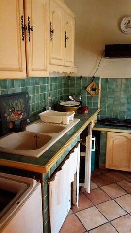 Kitchen with all the mod cons. A few refurbishment planned for 2020