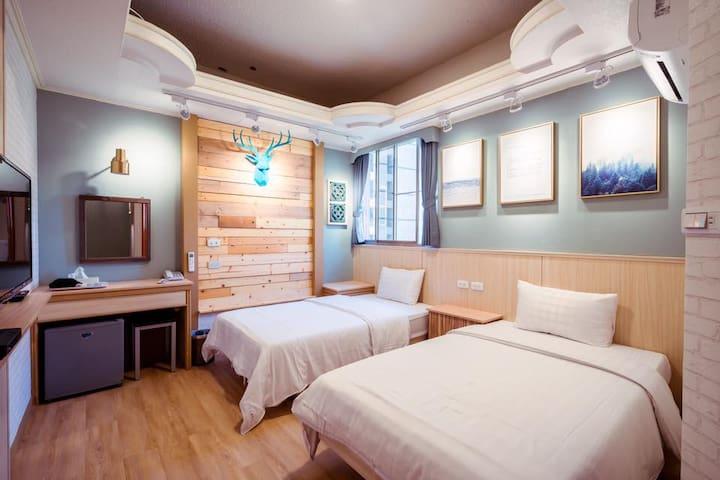 文創新館雙床房R605