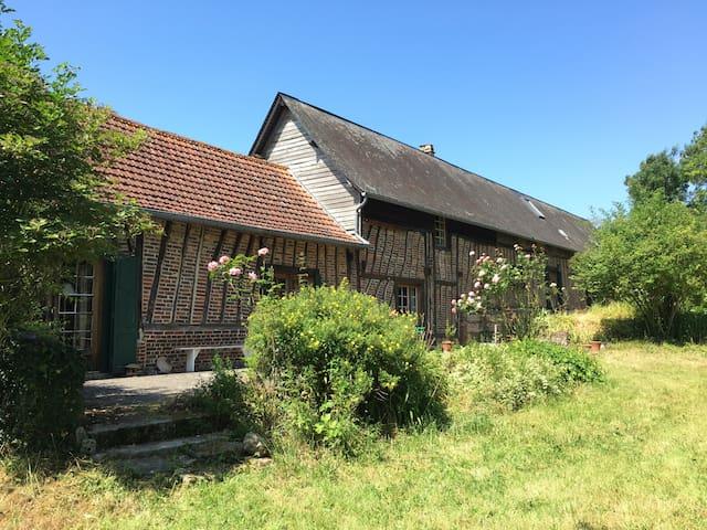 Chambres d'hôte à la campagne - Saint-Riquier-en-Rivière - Bed & Breakfast