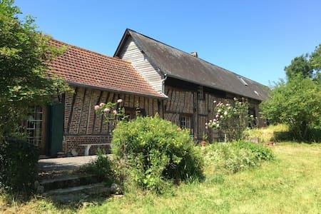 Chambres d'hôte à la campagne - Saint-Riquier-en-Rivière - Penzion (B&B)
