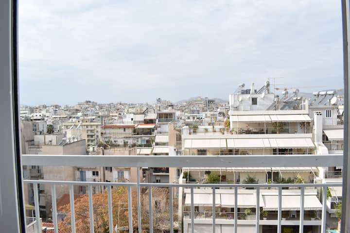 Comfy Roof Top Studio In The Heart Of Piraeus