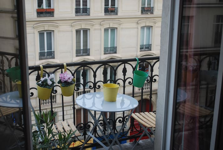 Charming Studio near the Canal Saint-Martin - Paris - Apartmen