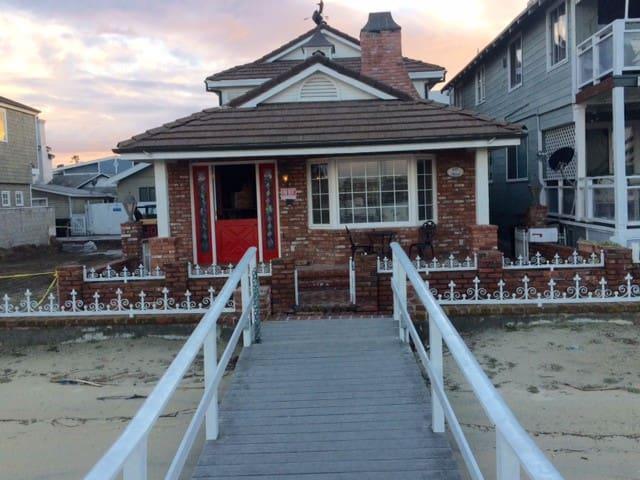 BayFront home Newport Beach w private beach & dock - Newport Beach - House