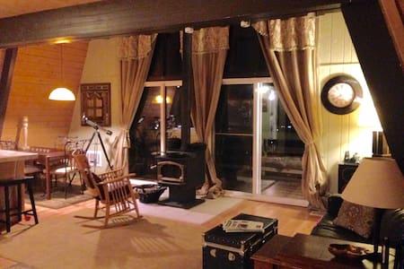 COZY CABIN WITH GORGEOUS VIEWS - Tehachapi - Rumah