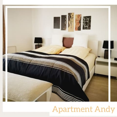 Big apartment Andy for 6 guests