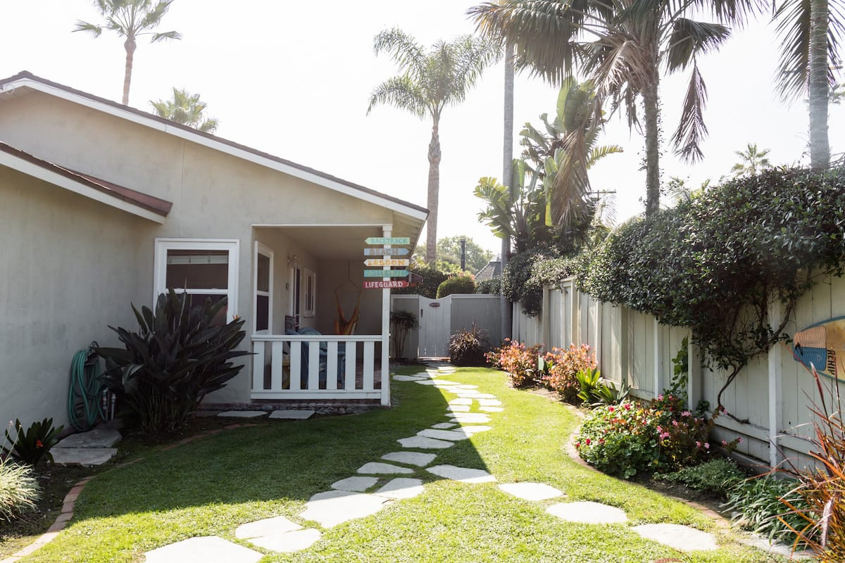 Live the Beach Life in a Quaint Shell Cottage
