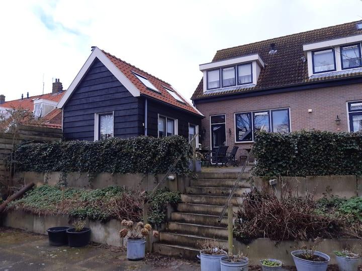 """luxe 2 persoons studio """"bie mien""""in Brouwershaven"""