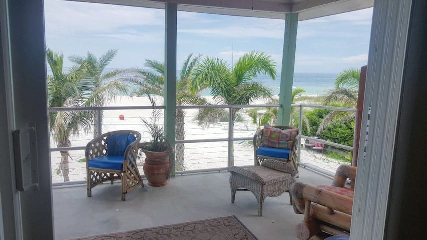 Exclusive - Beach Front House - Clearwater Beach