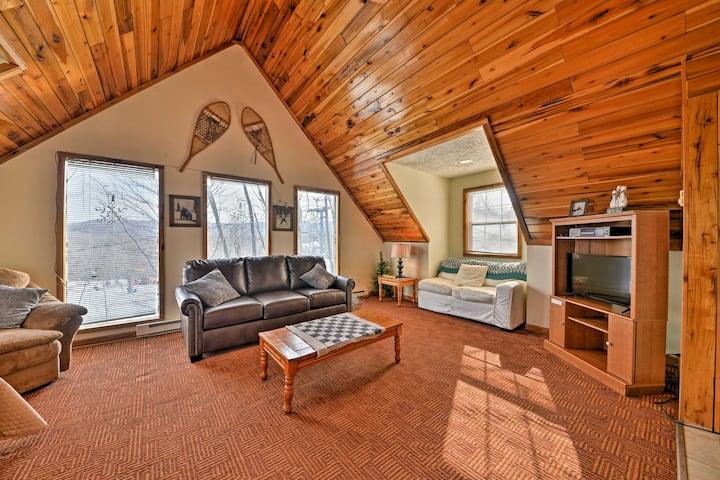 Ski-In/Ski-Out Ghent Cabin w/ Mountain Views!