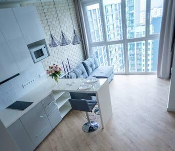 Gray apartment 450