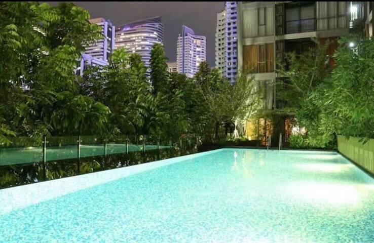Super Cozy apt in Silom (CBD) - Bangkok - Apartment