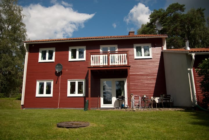 Gezellig huis midden in de Zweedse natuur