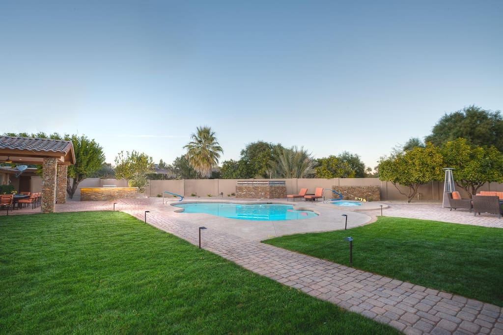 Huge lot with ultimate privacy