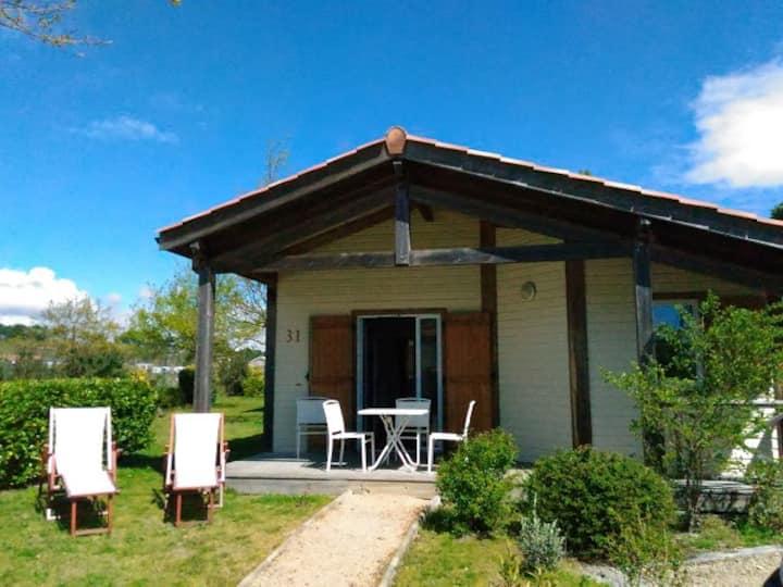 Maison 4 pers dans résidence avec piscine près lac