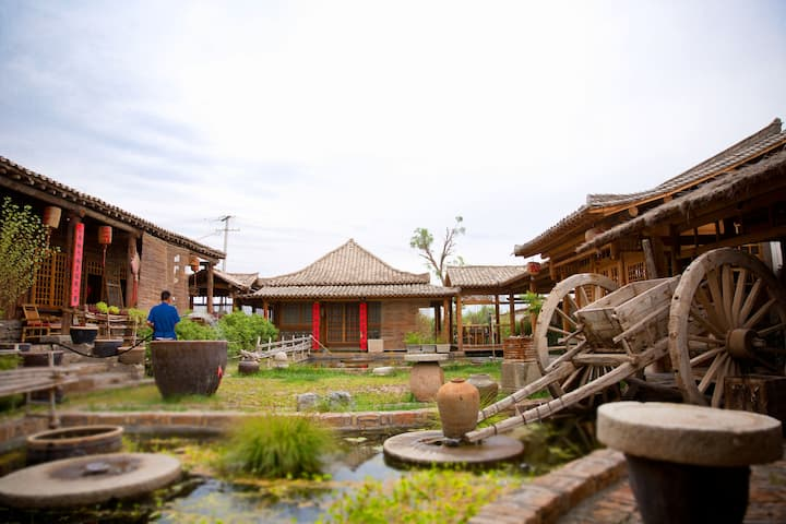 Gansu Jiuquan Suyun folk customs village