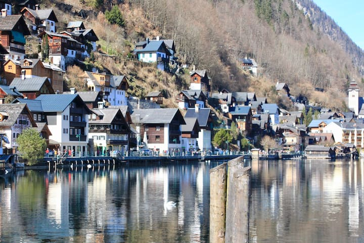 Suite with 2 bedrooms, 5 min drive from Hallstatt