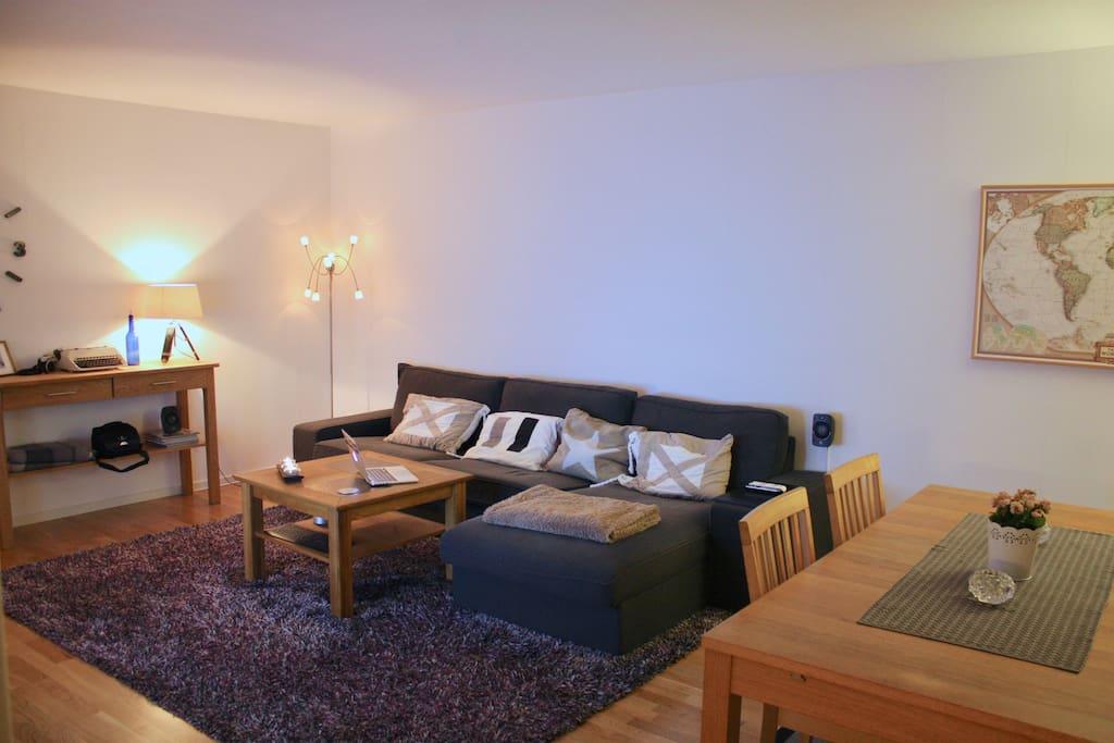 Living Room Right Corner