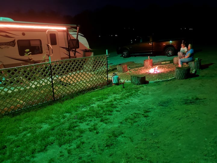 Private County Camping site near many activities
