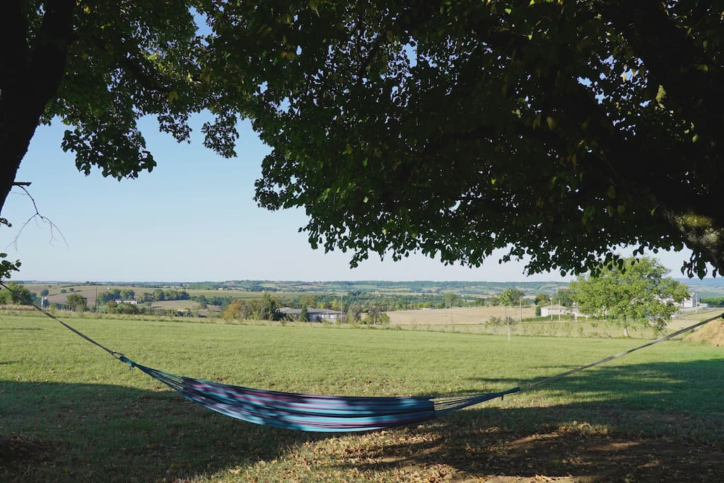 paysage du Tarn - vue du parc