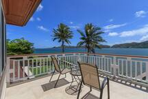 Relax on the lanai while taking in the spectacular views.