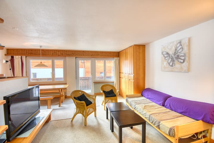 Cozy large 3.5 rooms in center of Saas-Fee