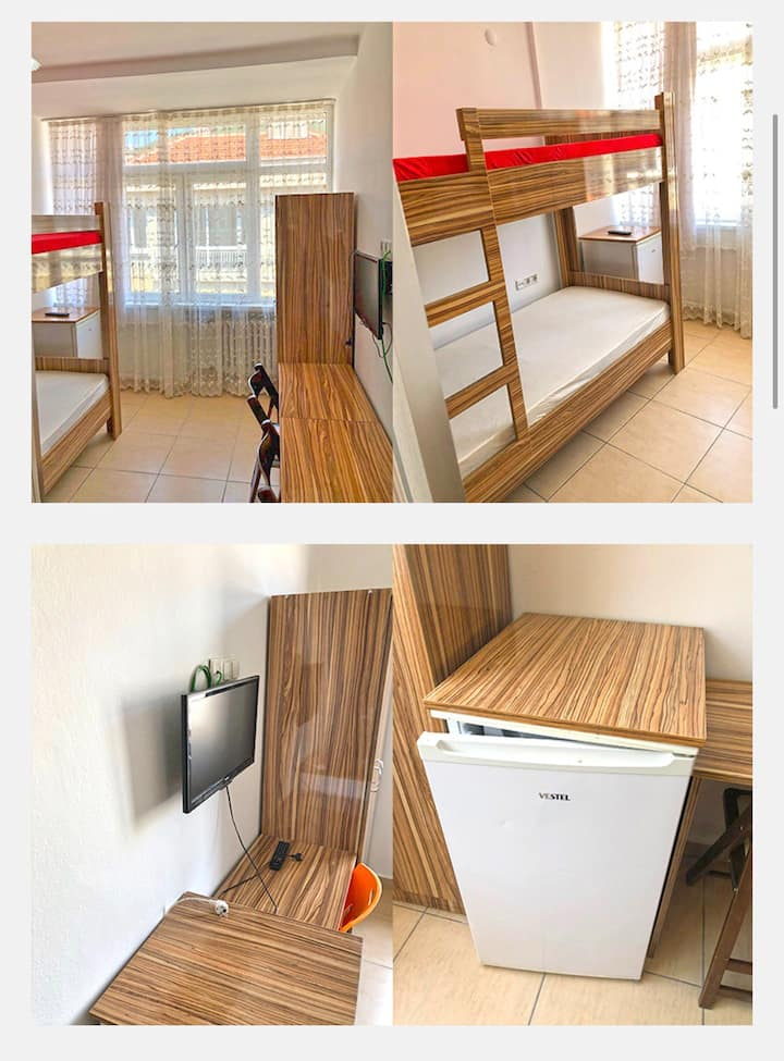 Zeybek Apart 50 odamızla hizmetinizdeyiz