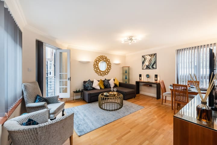 Ultra Chic 1 bed flat in Mayfair