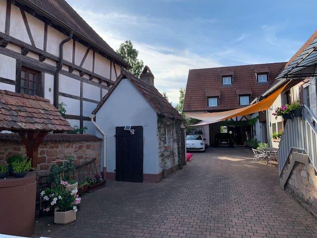 Studio cosy en Rez-de-jardin