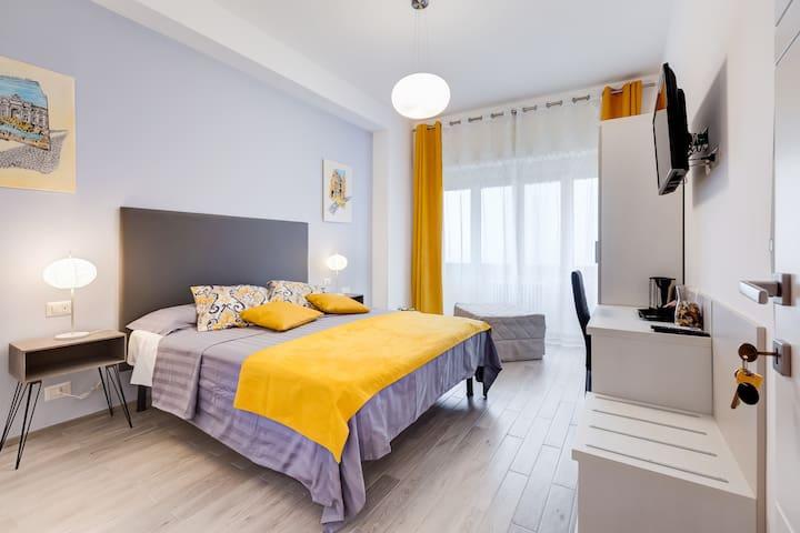 "Double room ""I Cantoni di Roma"" Guest House"