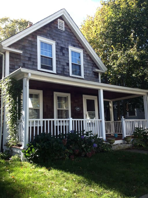 Cedar shingled New England style home awaits you!