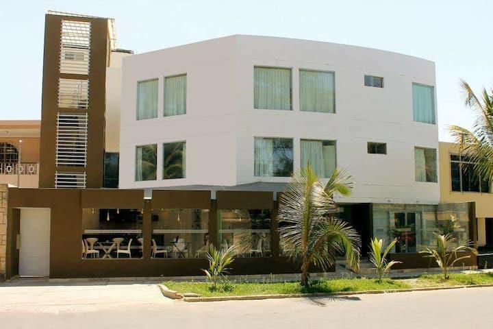 Cómoda estadia en el centro residencial de Piura