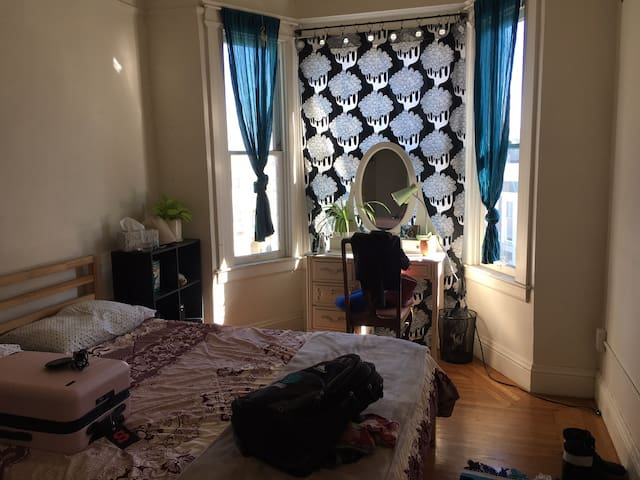 Bright Sunny Large One Bedroom in Nob Hill