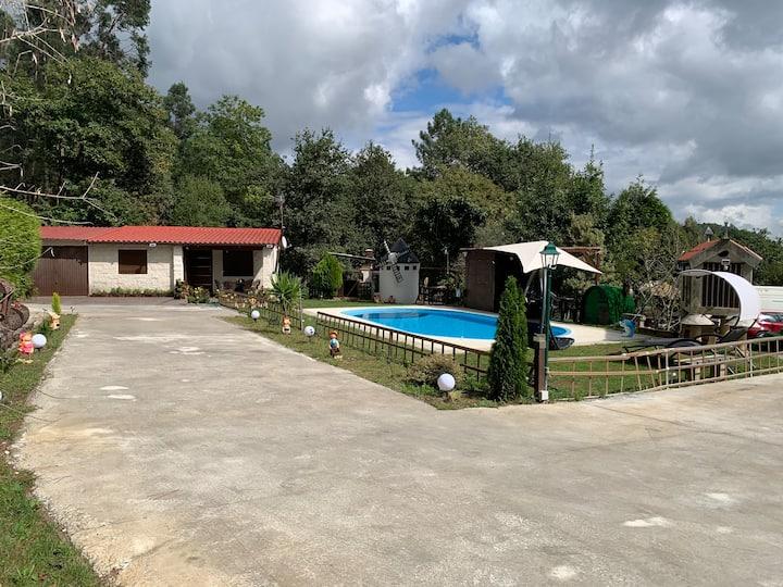 Casa Rural con Jacuzzi exterior y piscina